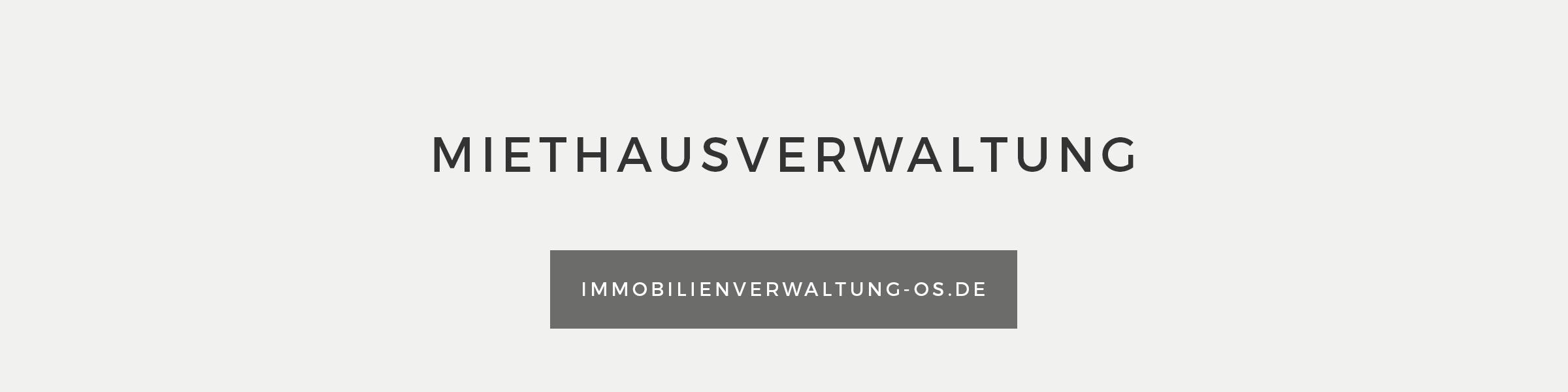 Banner Miethausverwaltung