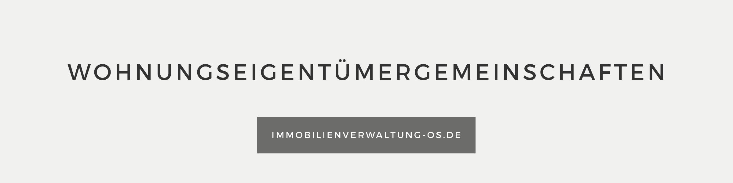 Banner Wohnungseigentümergemeinschaften